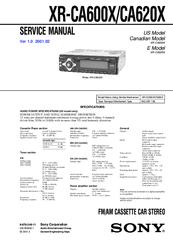 sony xr 3500 wiring diagram motorcycle schematic images of sony xr wiring diagram sony xr ca620x service manual sony xr wiring