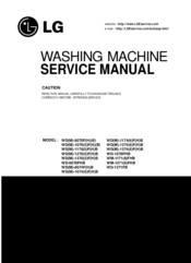 LG WM-1171(6)FHB Service Manual