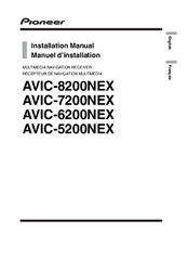 Pioneer AVIC-5200NEX Installation Manual