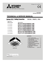 Mitsubishi Electric PLFY Series Technical & Service Manual