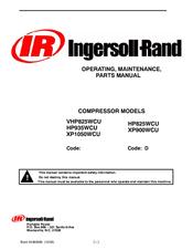 ingersoll rand xp900wcu manuals rh manualslib com Ingersoll Rand Rollers Rand Ingersoll R75i-W1235