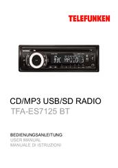 telefunken tfa es7110 manuals rh manualslib com Telefunken Record Player Telefunken Opus Radio