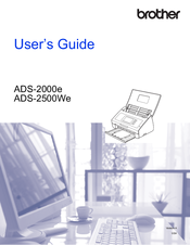 Brother ADS-2000e User Manual