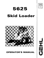 gehl 5625sx operator s manual pdf download rh manualslib com Gehl 5625 Starter Gehl CTL70 Service Manual