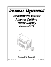 Thermal Dynamics Power Supply Operating Manual Cnc, Metalworking & Manufacturing
