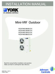 york yv2vyh018kas d x manuals rh manualslib com york installation manual pdf york user manual