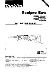 Makita JR3030T Instruction Manual