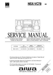 aiwa nsx vc78 manuals rh manualslib com