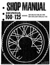 Honda SL125 Manuals | ManualsLibManualsLib