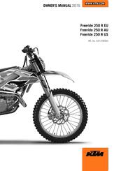 Ktm Freeride 250 R Eu Manuals KTM Freeride 350 KTM Two-Stroke Troubleshooting Help On Ktm Freeride 250 R Eu Owner's Manual