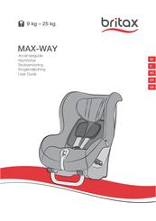 britax max way manuals rh manualslib com User Manual PDF Owner's Manual