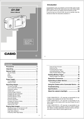 Casio QV-300 Owner's Manual