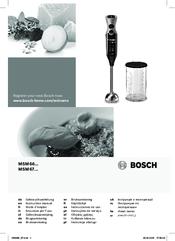 bosch msm66 series manuals rh manualslib com bosch food mixer manual bosch food mixer manual
