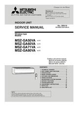 mitsubishi electric msz ga71va manuals rh manualslib com Mitsubishi Air Conditioner Error Codes Mitsubishi Heaters Remote Manual