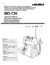 juki mo 735 instruction manual pdf download rh manualslib com