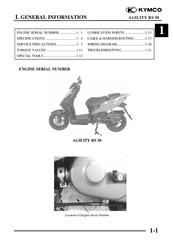 kymco agility rs 50 manuals rh manualslib com kymco stryker service manual kymco service manual pdf
