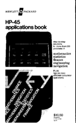 HP HP-45 Application Book