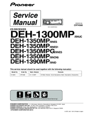 Pioneer DEH-1300MP Service Manual