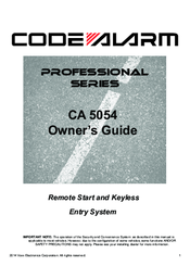 code alarm ca5054 manuals rh manualslib com code alarm ca 1053 installation manual code alarm ca 4051 installation manual