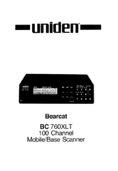 uniden bearcat bc 760xlt manuals rh manualslib com uniden bc760xlt manual pdf Uniden Digital Answering System Manual