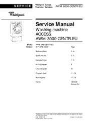 whirlpool awm 8000 manuals rh manualslib com Whirlpool Refrigerator Manual Whirlpool Tub Manual