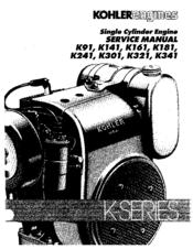 kohler k301 manuals rh manualslib com Kohler K301 Points Kohler K301 Engine