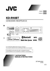 JVC KD-R90BT Receiver Windows Vista 32-BIT