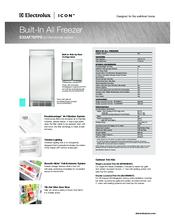 electrolux e32af75fps icon refrigerator manuals electrolux e32af75fps icon refrigerator dimension manual