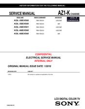 sony bravia kdl 55ex500 manuals rh manualslib com Sony Handycam Manual Philips Manuals