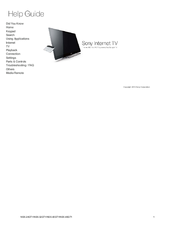 sony nsx 24gt1 pdf manuals rh manualslib com Sony LCD TV sony google tv nsx-24gt1 manual
