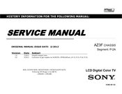 Sony BRAVIA KDL-32EX650 Service Manual