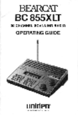 Uniden Bearcat Bc 855xlt Manuals border=