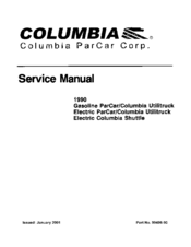 columbia 1990 electric parcar utilitruck manuals rh manualslib com columbia par car service manual Smart Car Service Manual