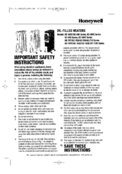 Honeywell hz-690 series Instructions Manual