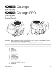 kohler courage sv720 manuals rh manualslib com Kohler Generators Service Manuals Kohler Home Generators