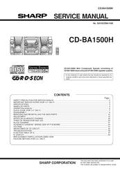 sharp cd ba120 cd ba125 service manual download