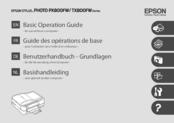 Epson Stylus Photo Printer PX800FW Basic Operation Manual