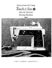 Singer 600-603 sewing machine service manual.