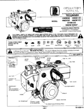 tecumseh snow king hmsk80 manuals rh manualslib com Tecumseh Snow King Snow Blower Snow King Engine