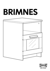 ikea brimnes manuals. Black Bedroom Furniture Sets. Home Design Ideas