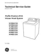 ge whre5550k manuals ge whre5550k technical service manual