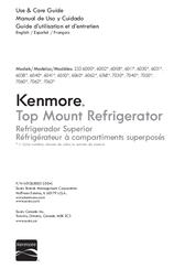 Kenmore 6011 Use & Care Manual