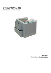 duplo docucutter cc 228 manuals rh manualslib com Duplo Folder Parts Duplo Blocks