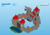 playmobil castle instructions 3268