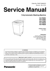 Panasonic NAF70B2 Manuals