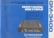 pioneer gm 3400 manuals rh manualslib com