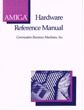 commodore amiga hardware reference manual pdf download rh manualslib com amiga hardware reference manual third edition Military Vehicle Reference