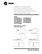 Trane xr95 manuals trane xr95 performance data sheet freerunsca Gallery