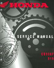 honda cb900f hornet service manual pdf download rh manualslib com honda cb 900 service manual honda cb900f service manual