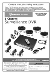 BUNKER HILL SECURITY 62463 OWNER'S MANUAL & SAFETY